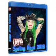 "IWA Mid-South Blu-ray/DVD April 12, 2018 ""Spring Heat"" - Memphis, IN"