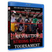"IWA Mid-South Blu-ray/DVD June 22, 2018 ""Revolution Strong Style Tournament 2018"" - Memphis, IN"