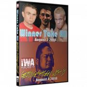 "IWA Mid-South DVD August 2 & 4, 2018 ""Winner Takes All & Getting Shiggy With It"" - Memphis, IN"
