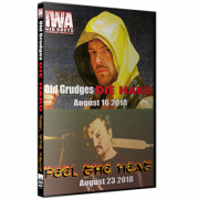 """IWA Mid-South DVD August 16 & 23, 2018 """"Old Grudges Die Hard & Feel The Heat"""" - Memphis, IN"""