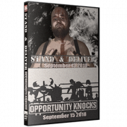 "IWA Mid-South DVD September 13 & 15, 2018 ""Stand & Deliver & Opportunity Knocks"" - Memphis, IN"