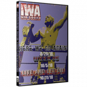"IWA Mid-South DVD IWA Mid-South September 29, October 5 & 11, 2018 ""Autumn 2018 Tripleheader"" - Jeffersonville, IN"