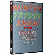 "IWA Mid-South DVD IWA Mid-South December 13 & 20, 2018 ""Winter Tryout Show & Holiday Havoc"" - Jeffersonville, IN"