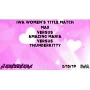 """IWA Mid-South February 15, 2019 """"Heartbreak 2019"""" - Jeffersonville, IN (Download)"""