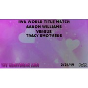 "IWA Mid-South DVD February 28, 2019 ""Heartbreak Ends"" - Jeffersonville, IN"