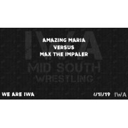 "IWA Mid-South April 18, 2019 ""We Are IWA"" - Jeffersonville, IN (Download)"