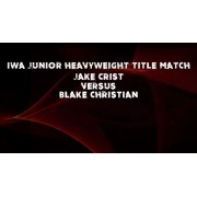 """IWA Mid-South November 2, 2019 """"The Show Must Go On"""" - Jeffersonville, IN (Download)"""