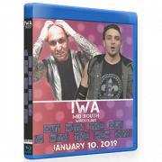"IWA Mid-South Blu-ray/DVD January 10, 2019 ""Out With The Old, In With The New"" - Jeffersonville, IN"