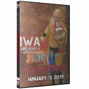 "IWA Mid-South DVD January 31, 2019 ""Winter Armageddon"" - Jeffersonville, IN"