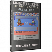 """IWA Mid-South DVD February 2, 2019 """"The War to Settle All Scores"""" - Jeffersonville, IN"""