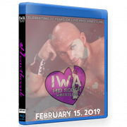 "IWA Mid-South Blu-ray/DVD February 15, 2019 ""Heartbreak 2019"" - Jeffersonville, IN"