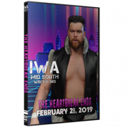 """IWA Mid-South DVD February 28, 2019 """"Heartbreak Ends"""" - Jeffersonville, IN"""