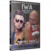 "IWA Mid-South DVD March 7, 2019 ""Up Against It"" - Jeffersonville, IN"