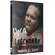 "IWA Mid-South DVD March 28, 2019 ""Legendary"" - Jeffersonville, IN"