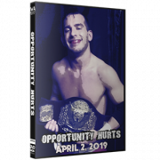 "IWA Mid-South DVD April 2, 2019 ""Opportunity Hurts"" - Jeffersonville, IN"