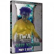 "IWA Mid-South DVD May 2, 2019 ""Derby Madness"" - Jeffersonville, IN"