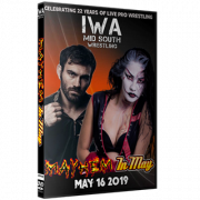 "IWA Mid-South DVD May 16, 2019 ""Mayhem In May"" - Jeffersonville, IN"