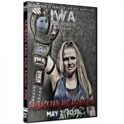 "IWA Mid-South DVD May 23, 2019 ""Payback Pain and Agony 2019"" - Jeffersonville, IN"