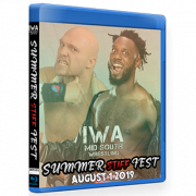 "IWA Mid-South Blu-ray/DVD August 1, 2019 ""Summer Stiff Fest"" - Jeffersonville, IN"