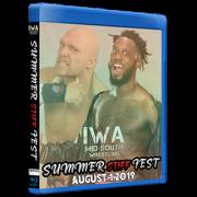 "IWA Mid-South Blu-ray/DVD August 1, 2019 ""Summer Stiff Fest"" - Jeffersonville, IN"