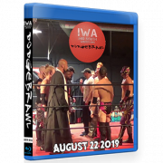 "IWA Mid-South Blu-ray/DVD August 22, 2019 ""Dodgebrawl"" - Jeffersonville, IN"