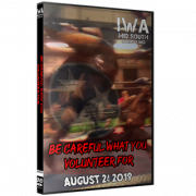 "IWA Mid-South DVD August 24, 2019 "" Be Careful What You Volunteer For"" - Knoxville, TN"