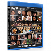 "IWA Mid-South Blu-ray/DVD September 12, 2019 ""Ted Petty Invitational 2019 Night 1"" - Jeffersonville, IN"