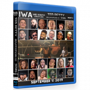 "IWA Mid-South Blu-ray/DVD September 13, 2019 ""Ted Petty Invitational 2019 Night 2"" - Jeffersonville, IN"