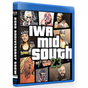 "IWA Mid-South Blu-ray/DVD October 10, 2019 ""23rd Anniversary Show"" - Jeffersonville, IN"