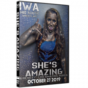 "IWA Mid-South DVD October 27, 2019 ""She's Amazing"" - Jeffersonville, IN"