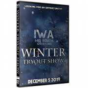 "IWA Mid-South DVD December 5, 2019 ""Winter Tryout Show"" - Jeffersonville, IN"