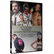 "IWA Mid-South DVD January 2 & 4, 2020 ""Out With The Old, Un With The New Parts 1 & 2"" - Jeffersonville, IN"