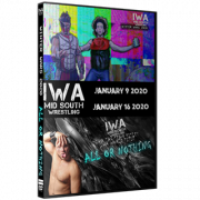 "IWA Mid-South DVD January 9 & 16, 2020 ""Winter Wars & All Or Nothing"" - Jeffersonville, IN"