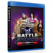 "IWA Mid-South Blu-ray/DVD January 25, 2020 ""Battle Broads"" - Jeffersonville, IN"