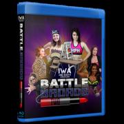 """IWA Mid-South Blu-ray/DVD January 25, 2020 """"Battle Broads"""" - Jeffersonville, IN"""