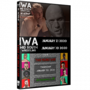 "IWA Mid-South DVD January 23 & 30, 2020 ""No Retreat No Surrender & This Means War"" - Jeffersonville, IN"