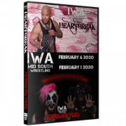 "IWA Mid-South DVD February 6 & 8, 2020 ""Heartbreak & February Fury"" - Jeffersonville, IN"