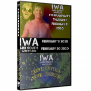 "IWA Mid-South DVD February 13 & 20, 2020 ""FebuBRAZY & Battle Of The Super Juniors"" - Jeffersonville, IN"