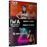"IWA Mid-South DVD March 7 & 12, 2020 ""In Like A Lion & Eyes Of March"" - Jeffersonville, IN"