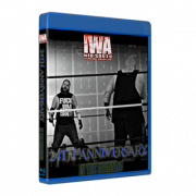 "IWA Mid-South Blu-ray/DVD October 9, 2020 ""24th Anniversary: In The Beginning"" - Connersville, IN"