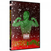 "IWA Mid-South DVD December 3, 2020 ""Seasons Beatings"" - Jeffersonville, IN"