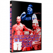 "IWA Mid-South DVD January 2, 2021 ""Out with the Old In With the New 2021"" - Jeffersonville, IN"