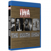 """IWA Mid-South Blu-ray/DVD March 6, 2021 """"1000th Show"""" - Jeffersonville, IN"""