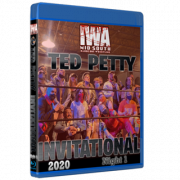 """IWA Mid-South Blu-ray/DVD April 23, 2021 """"Ted Petty Invitational 2021 Night 1"""" - Jeffersonville, IN"""
