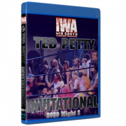 """IWA Mid-South Blu-ray/DVD April 24, 2021 """"Ted Petty Invitational 2021 Night 2"""" - Jeffersonville, IN"""