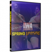 """IWA Mid-South DVD May 13, 2021 """"Spring Uprising"""" - Jeffersonville, IN"""