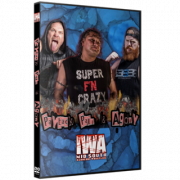 """IWA Mid-South DVD May 27, 2021 """"Payback, Pain & Agony"""" - Jeffersonville, IN"""