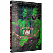 """IWA Mid-South DVD June 19, 2021 """"No Rest For The Wicked"""" - Jeffersonville, IN"""