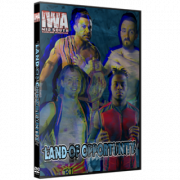 """IWA Mid-South DVD July 22, 2021 """"Land Of Opportunity"""" - Jeffersonville, IN"""