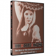 "IWA Mid-South DVD """"Oooh Maria's Amazing: Best of Amazing Maria Vol. 1"""